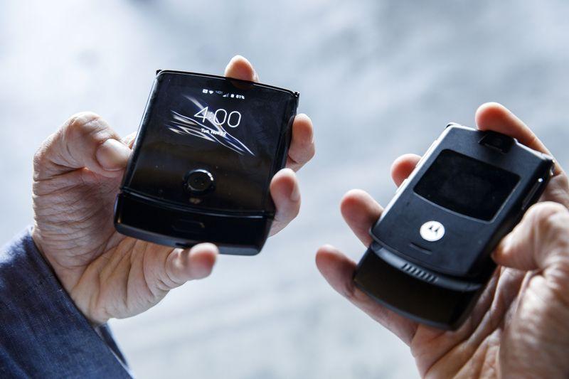 lanzamiento Motorola Razr