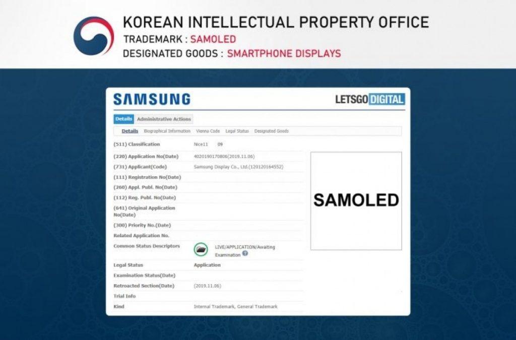 Pantalla Samsung SAMOLED