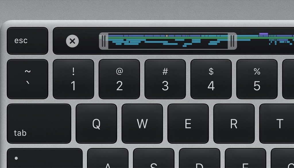 Touch Bar MacBook Pro de 16 pulgadas