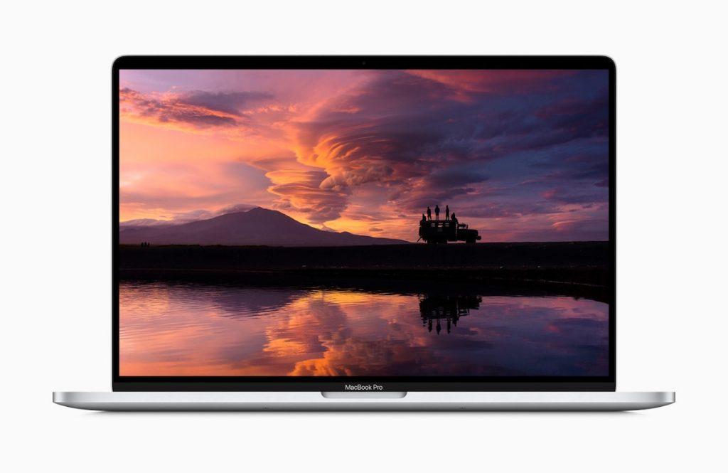 pantalla MacBook Pro de 16 pulgadas