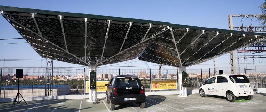 Estación de carga Adif