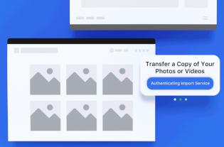 Herramienta transferir fotos y vídeos de Facebook