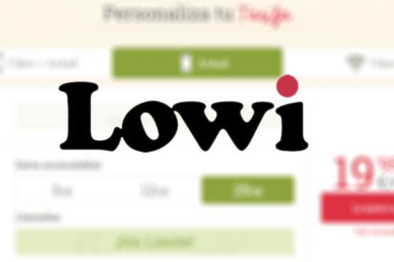 ¿Es realmente Lowi una buena compañía?