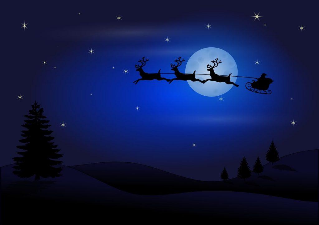 Postal de Santa Claus