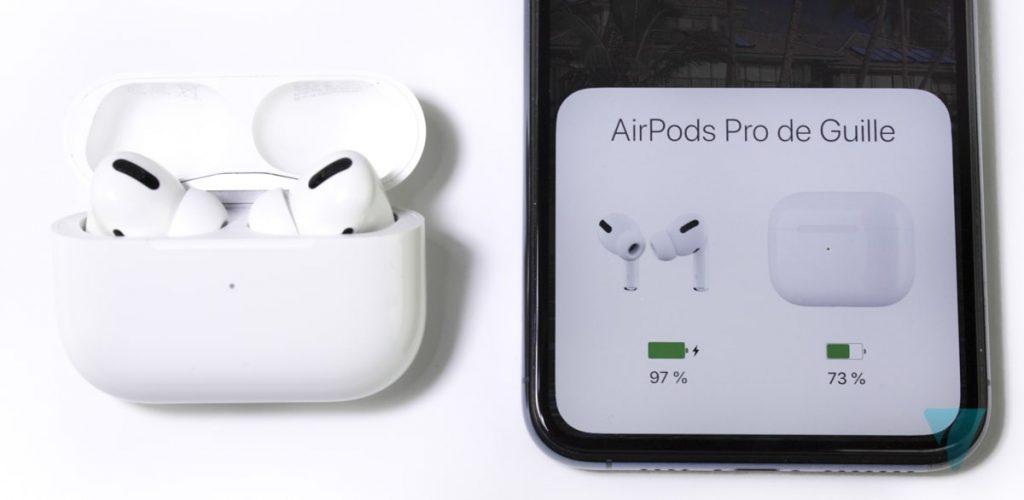 AirPods Pro sincronización