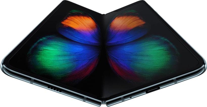 Samsung Galaxy Fold uno de los mejores móviles plegables