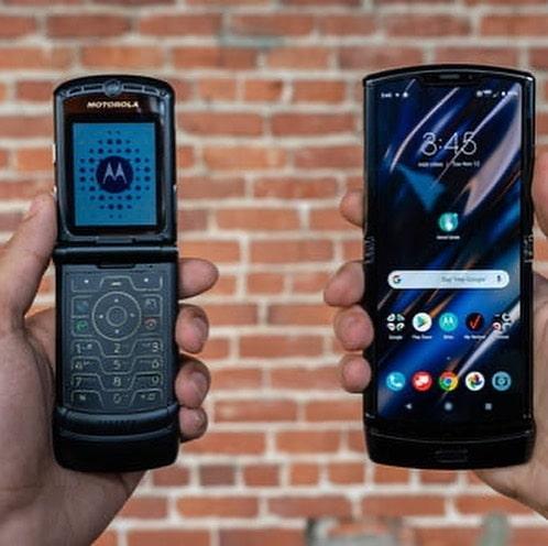 Motorola Razr comparado