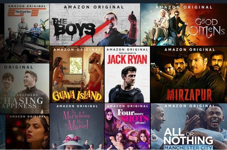 Catálogo de Amazon Prime Video, ¿es gratis?