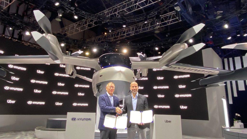 Acuerdos entre Hyundai y Uber