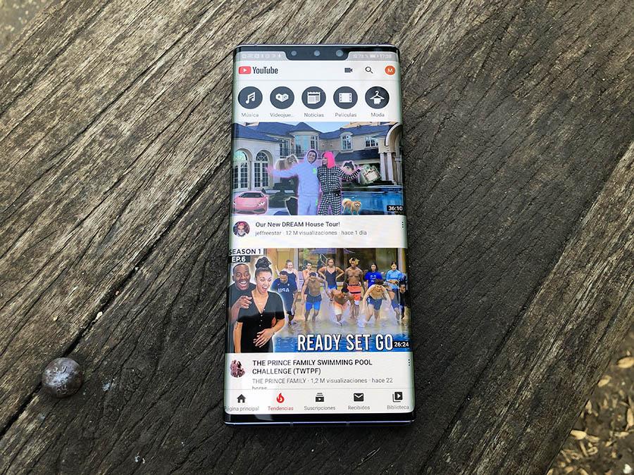 Huawei Mate 30 Pro pantalla 2