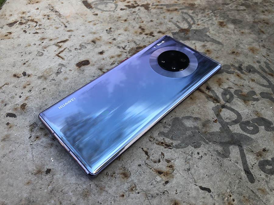 Huawei Mate 30 Pro parte trasera