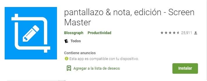 ScreenMaster app