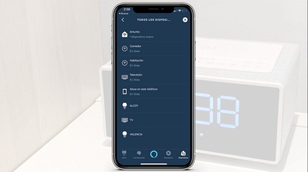 Dispositivos alexa iPhone
