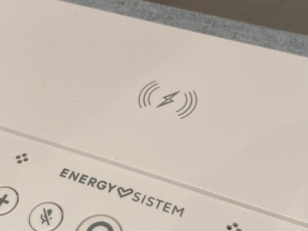 Energy Sistem Smart Speaker Wake Up carga qi