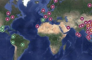 mapa del coronavirus en google maps