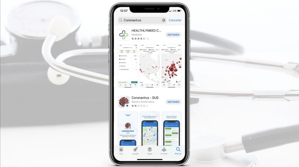 App Store con información veraz respecto al coronavirus