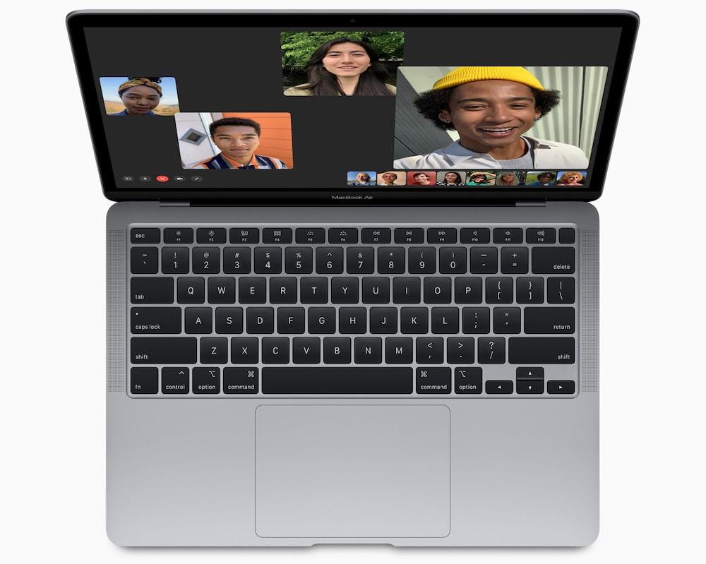 Facetime desde el nuevo MacBook Air