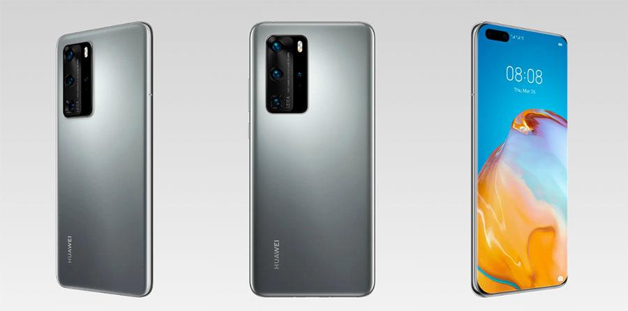 Huawei P40 Pro diseño