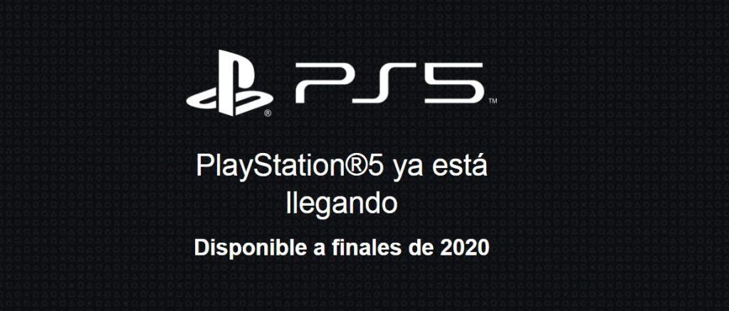 Lanzamiento PS5