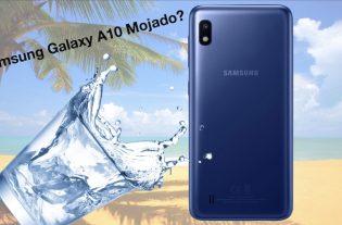 Samsung Galaxy A10 mojado