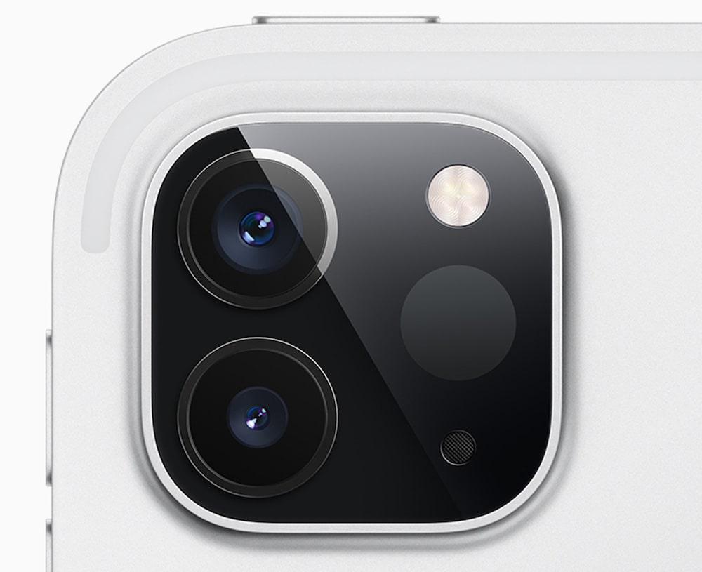 Las cámaras y el LiDAR del iPad Pro 2020