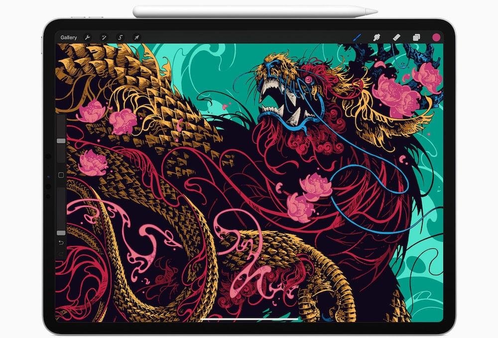 Pantalla del iPad Pro 2020
