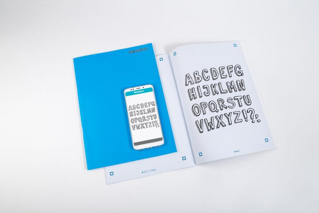 Escanear documentos físicos con Notebloc