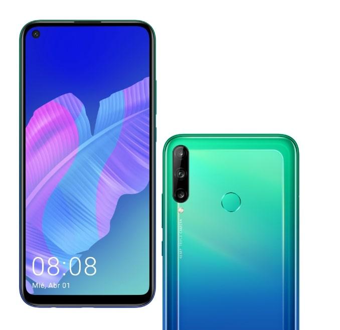 Huawei P40 Lite Aurora Blue