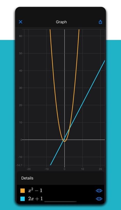 grafico con microsoft Math
