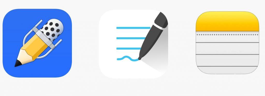 Mejores aplicaciones para tomar notas en iPad
