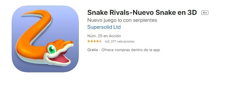 Snake Rivals Nuevo Snake en 3D
