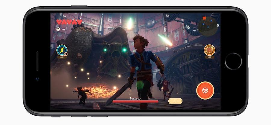 Apple Arcade en iPhone SE 2020