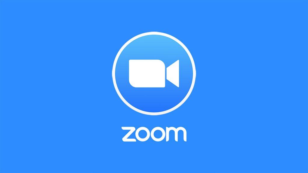 Logo ZOOM, aplicación de videollamada profesional