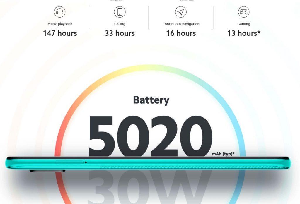 Batería y autonomia
