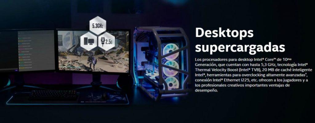 Puntos clave de los procesadores Intel Core serie S | Fuente: Intel