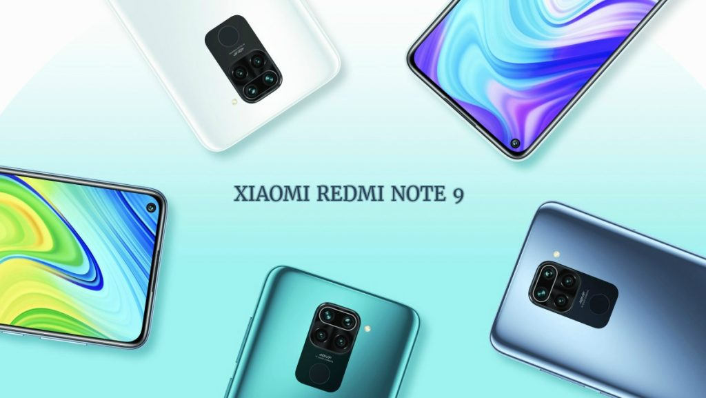 Modelo y colores del Redmi Note 9