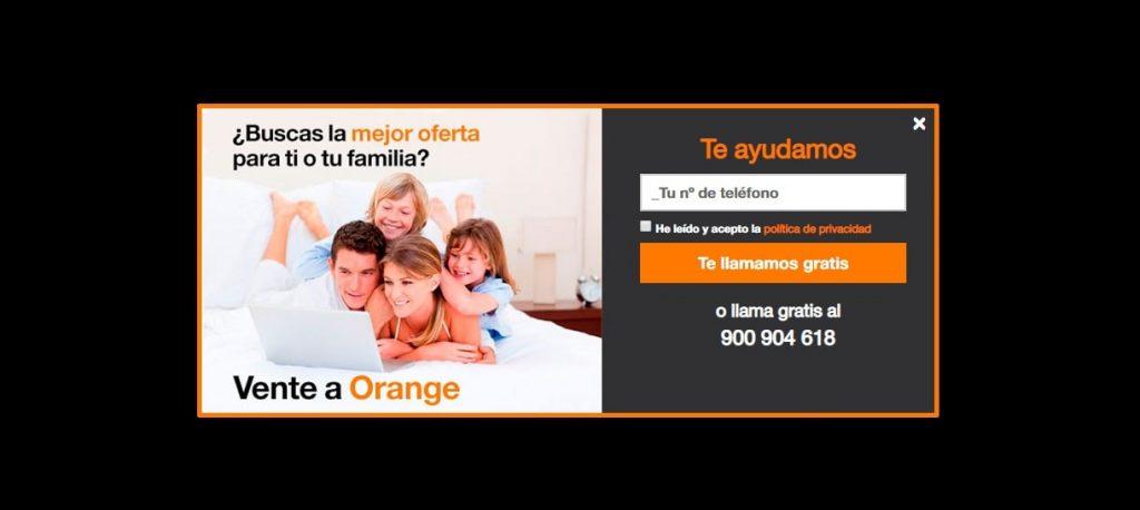 Cómo hacer que Orange me llame