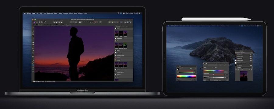 Sidecar en el MacBook Pro 13 pulgadas 2020