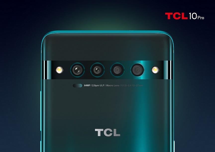 TCL 10 Pro cámaras