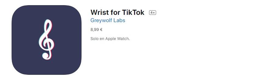 Wrist for TikTok app