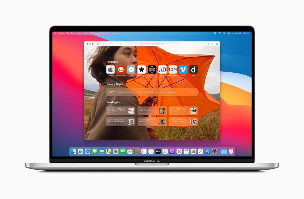 Safari macOS Big Sur