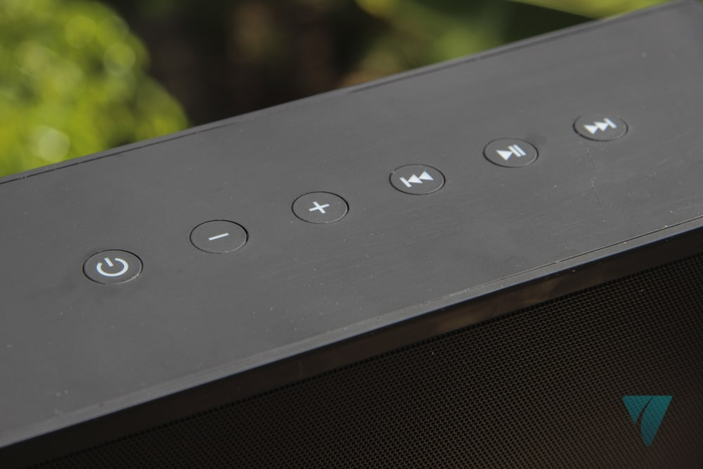 Botones del Energy Sistem Music Box 9