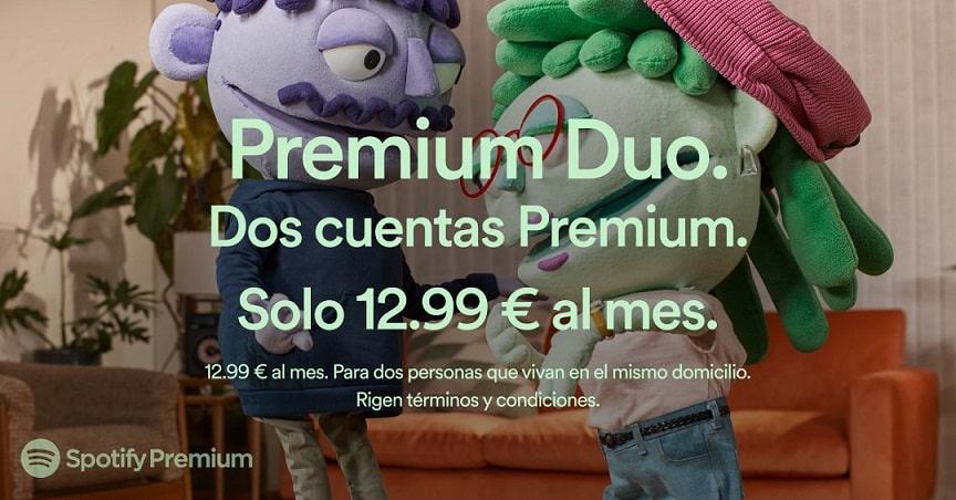 Spotify Premiun Duo
