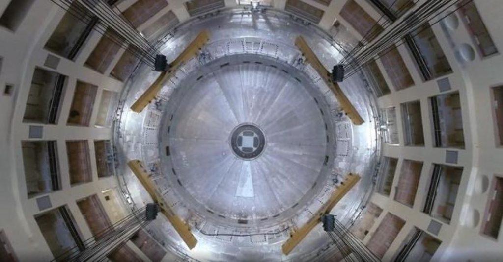 partícula antimateria
