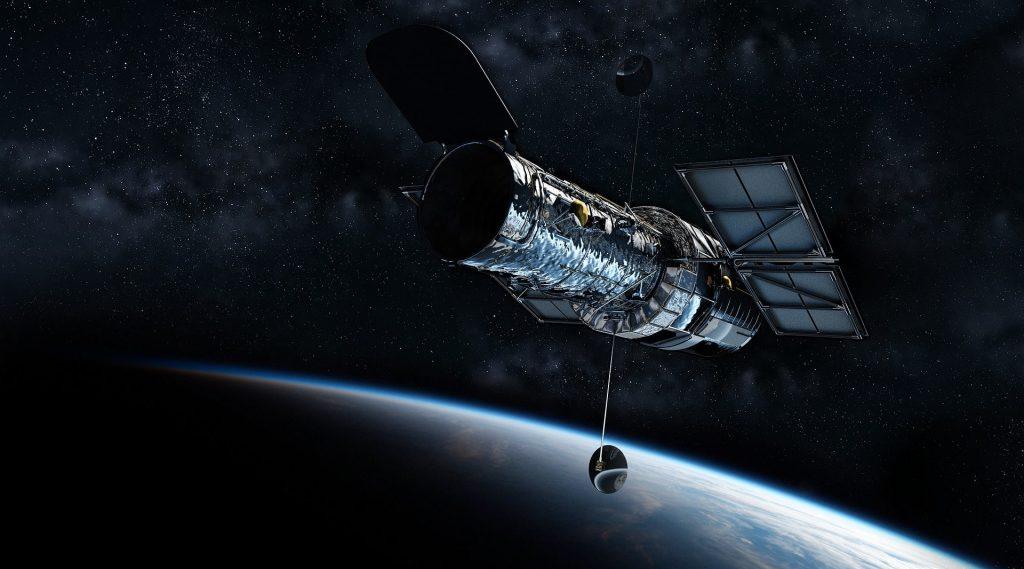 satélite publicitario