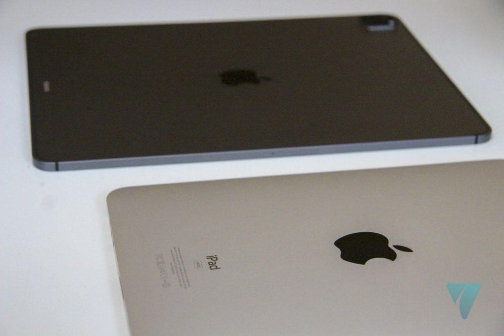 iPad Pro de 2021 vs. iPad 2010
