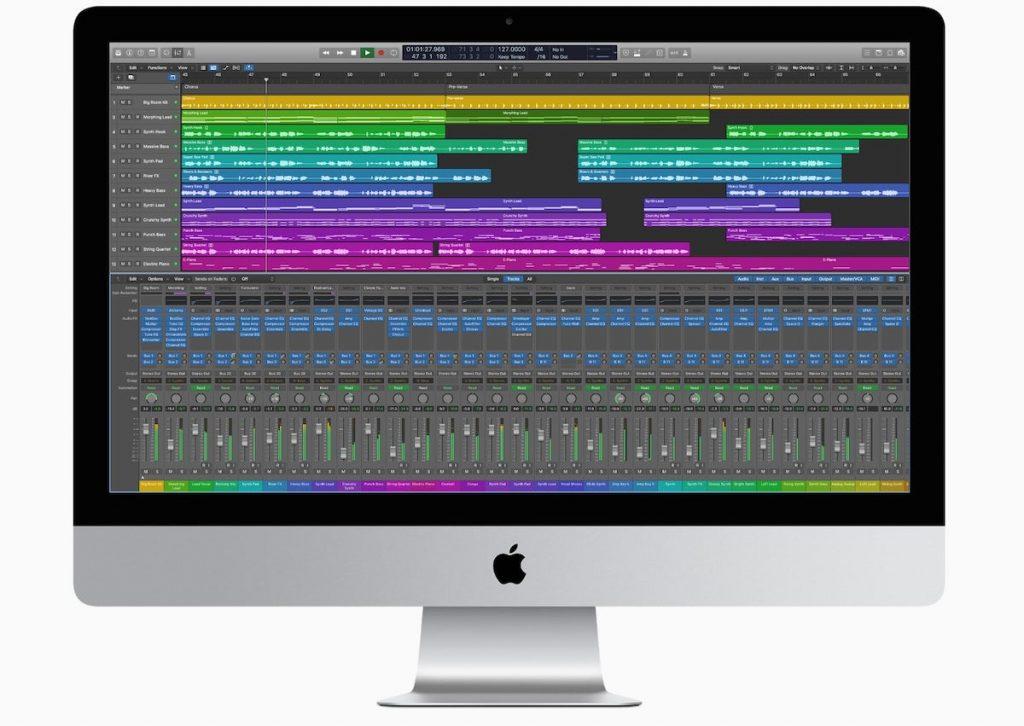 Logic Pro en el nuevo Mac