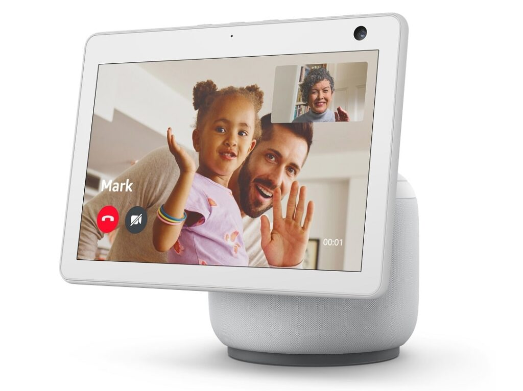 Videollamada con Alexa en Echo Show 10