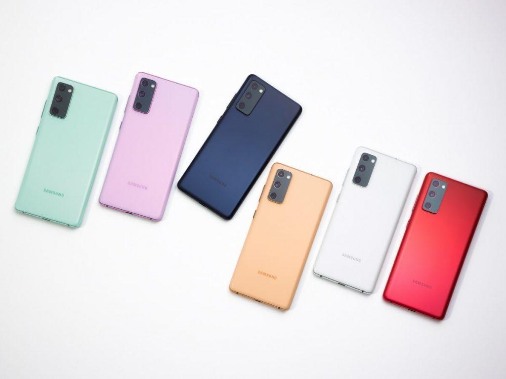 Colores Samsung Galaxy S20 Fan Edition