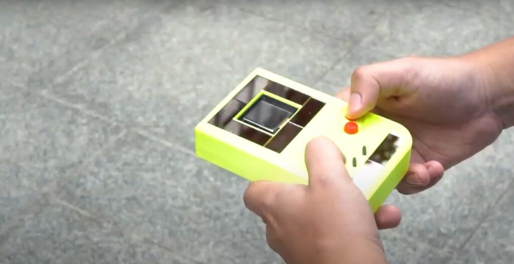 Nueva Game Boy sin baterías